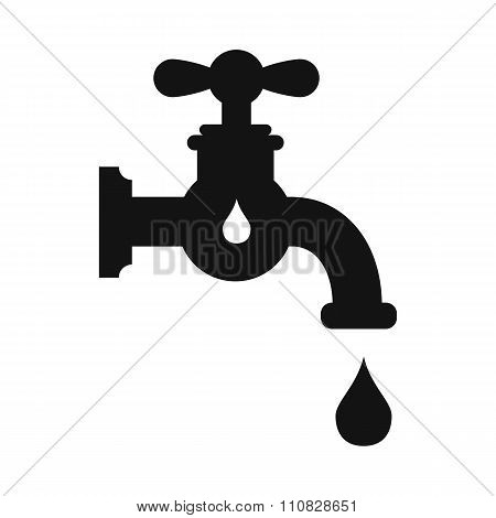 Save water simple icon