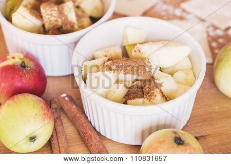 Red Apples, Cinnamon For Apple Pie