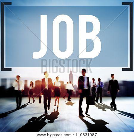 Job Employment Career Occupation Goals Concept