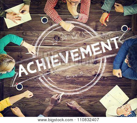 Achievement Accomplishment Success Goal Concept