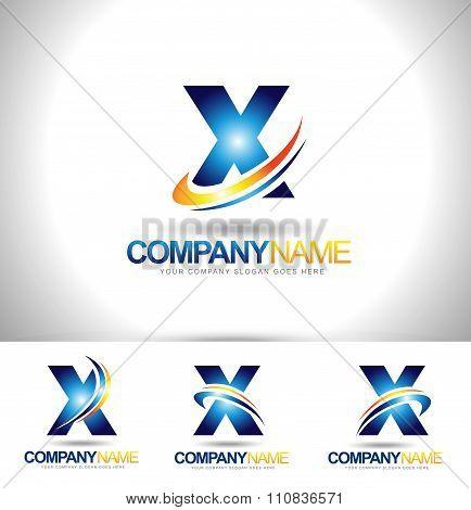 Letter X Logo Designs