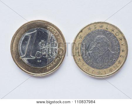 Slovenian 1 Euro Coin