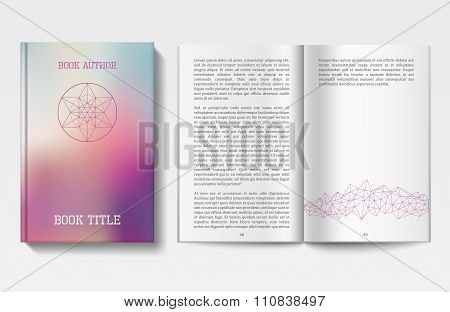 Book design template