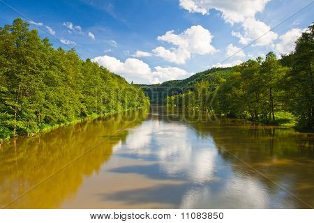The turbid river