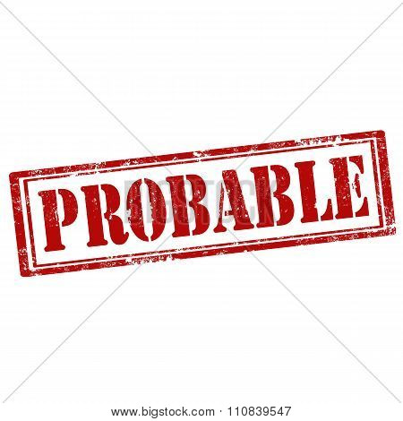 Probable-red Stamp