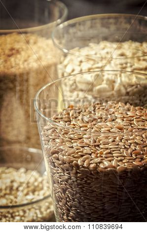Linseed In A Glass