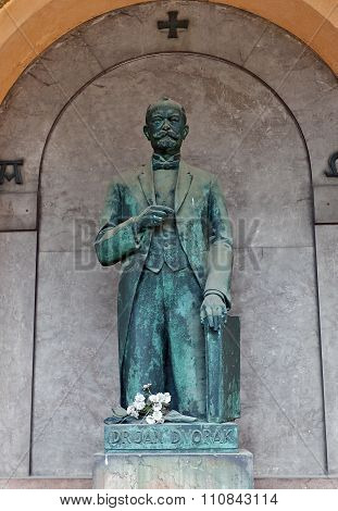 Doctor Jan Dvorak Tomb In Vysehrad Cemetery, Prague