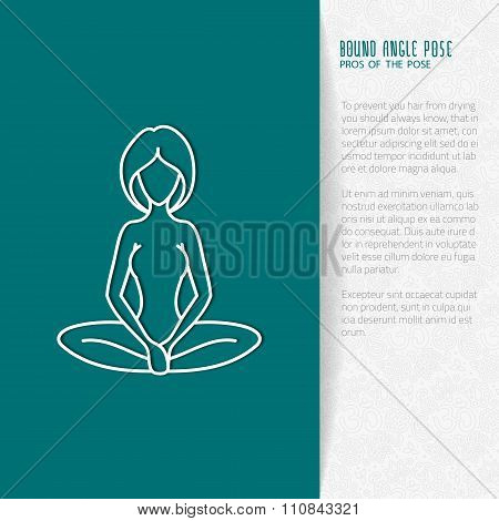 Flat Yoga Booklet Design