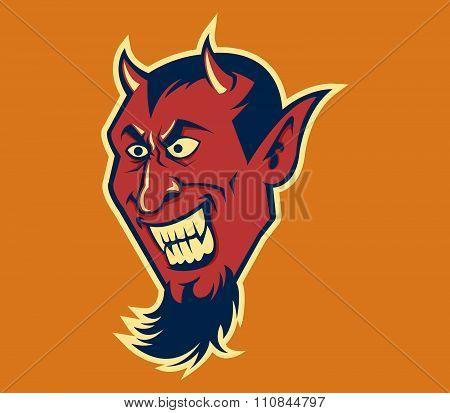 Devil Fang In Retro Color