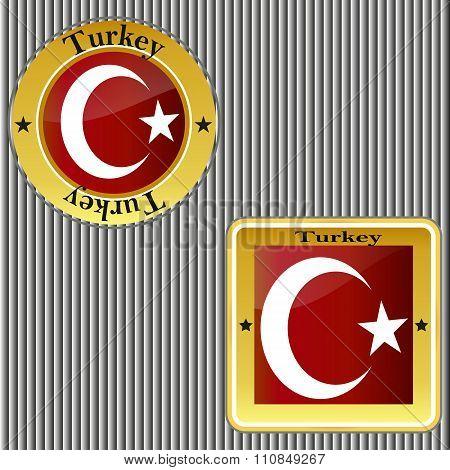 Flag  Turkey.