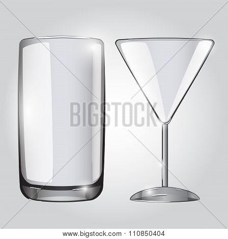 Empty vector glasses