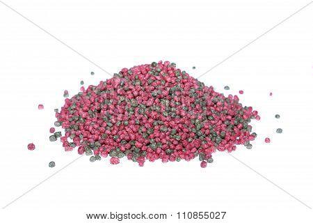 Granulated food fish