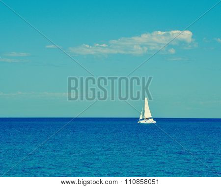 Sailing the Indian Ocean Blue
