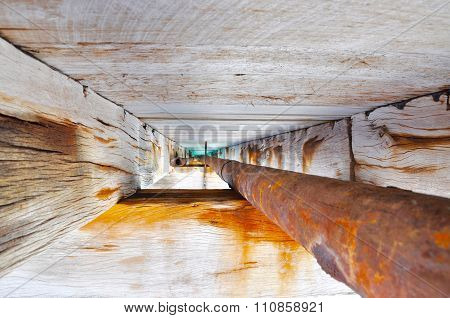 Rusted Jetty: Structure Perspective