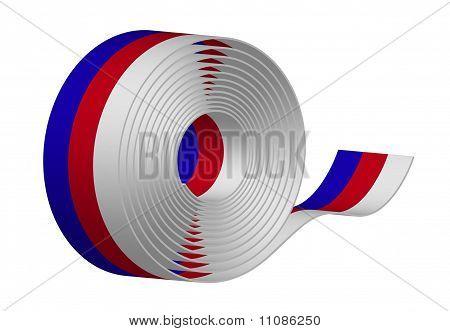 Ribbon - tricolor