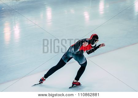 young woman athlete skater