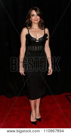 NEW YORK-DEC 8: Actress Tina Fay attends the premiere of
