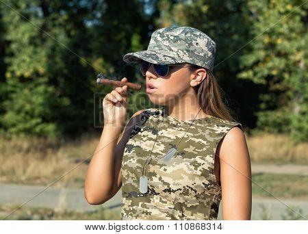 Girl Officer