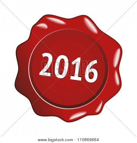 2016 red stamp