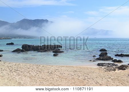 Elafonisi, Island of Deer, is like paradise on earth, and possessess a wonderful beach with pink cor