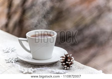 Hot Drink In The Cup