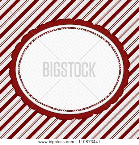 Red And White Striped Candy Cane Striped Background