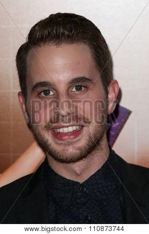 NEW YORK-DEC 8: Actor Ben Platt attends the premiere of