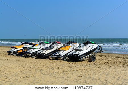 Jetski On The Beach For Rent