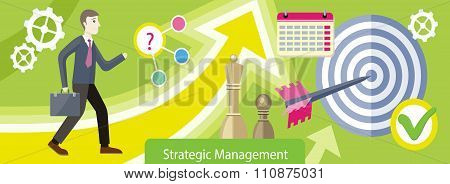 Strategic Management Design Flat