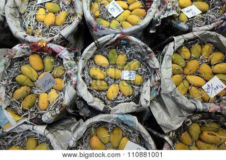 Asia Thailand Bangkok Banglaphu Pak Khlong Market