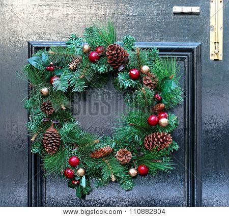 Wreath At Door