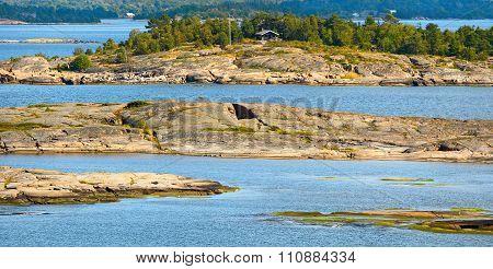 Aland Archipelago In Finland.