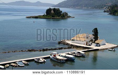 Island in Corfu