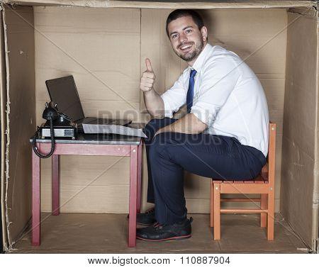 Thumb Up For Job