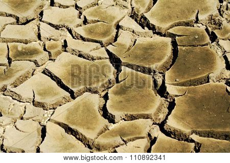image from outdoor texture background series (dry, cracked earth)