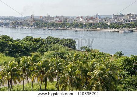 Old Havana Viewed From Morro Castle