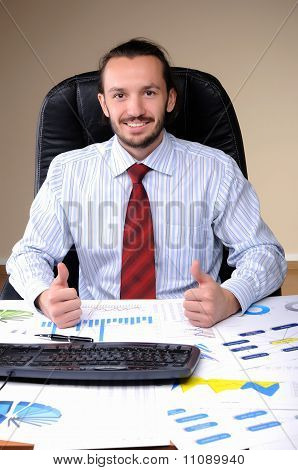 Portrait of  business person