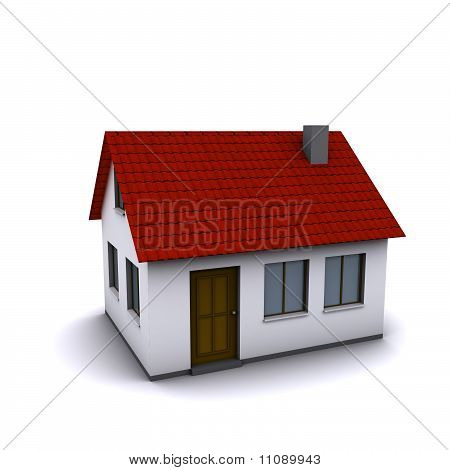 small three-dimensional house