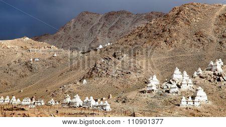 Stupas Around Leh - Ladakh - India