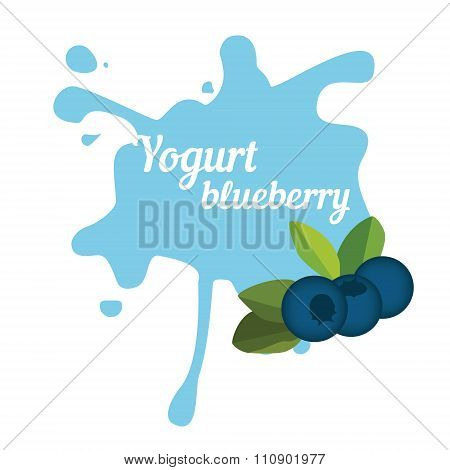 Splash Of Blueberry Yogurt