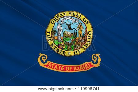 State Flag Of Idaho