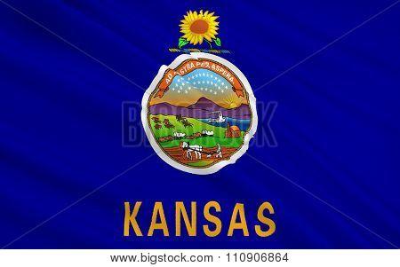 State Flag Of Kansas