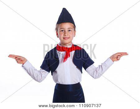 Charming Little Stewardess