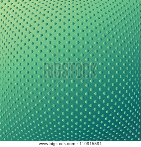 Abstract textured convex background. Dotted pattern. Vector art.