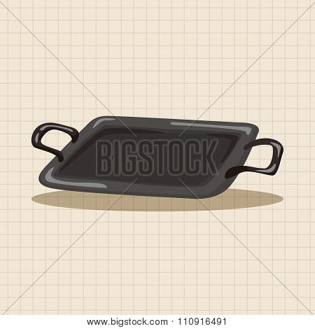 Barbecue Bakeware Equipment Theme Elements