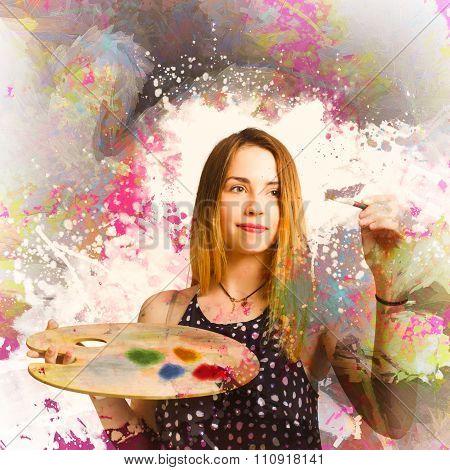 Adult Art Class Painter