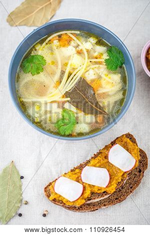 Soup With Noodles