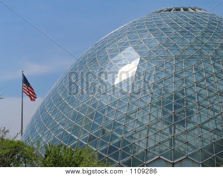Dome And Old Glory