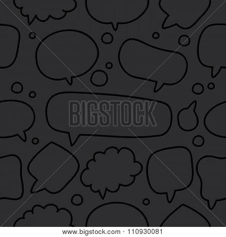 Seamless pattern of bubble