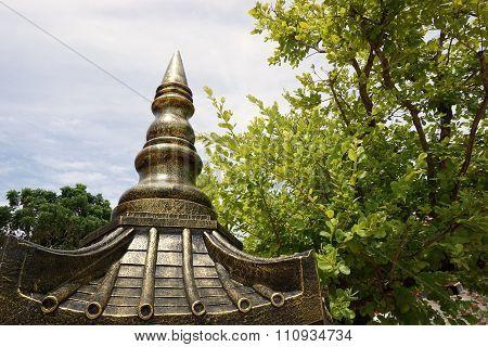 Thai Roof Top Steeple